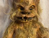 Scary baby doll werewolf halloween decor  Baby made to order- 3 different versions in the pictures