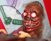 Meet the Homunculus, hanging Halloween horror decoration. hand made Haunted Doll. Scarry doll. perfect for Party's