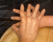 Realistic hands Sculpture  left and right