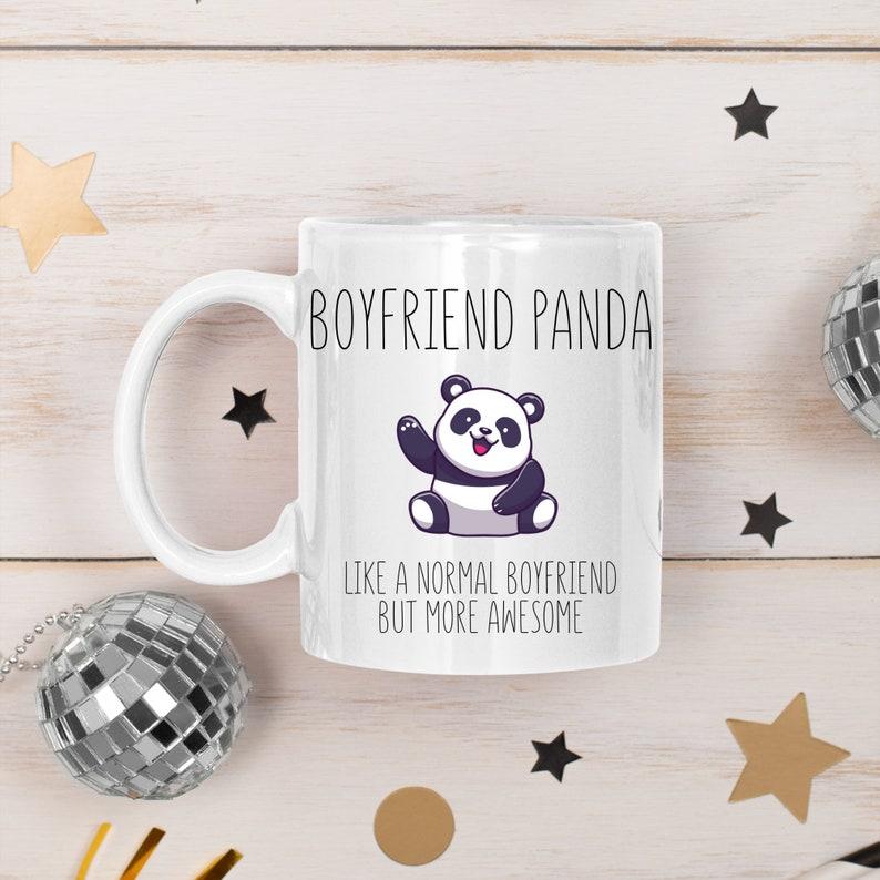 Boyfriend Panda Mug Boyfriend Mug Funny Boyfriend Mug