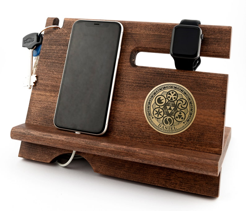 Legend of Zelda Medallions personalized desk organizer Phone holder Zelda art ornament Gamer boyfriend gifts Zelda room decor