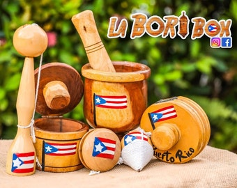 La Bori Box - Pilón (Morter), Mofonguera, Tostonera, Yoyo, Trompo, Balero