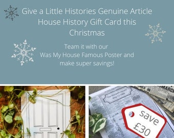 House History Gift Card + Archive News Bundle