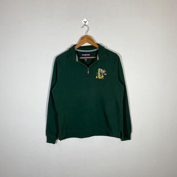 Vintage 90s Donald Duck Sweatshirt Quarter Zip Don