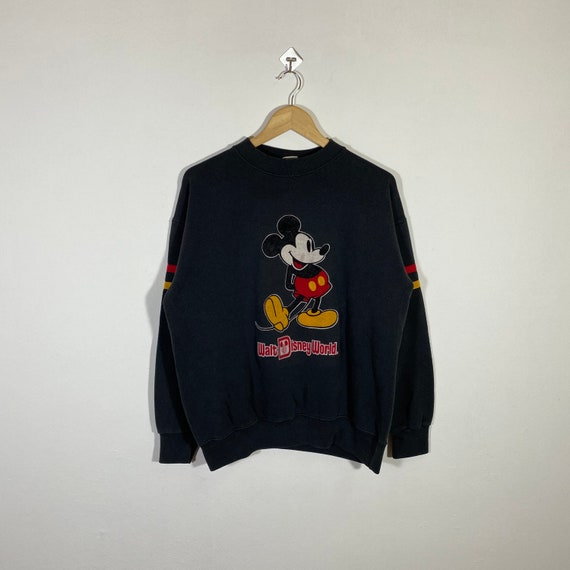 Vintage 80s Mickey Mouse Sweatshirt Jumper Mickey