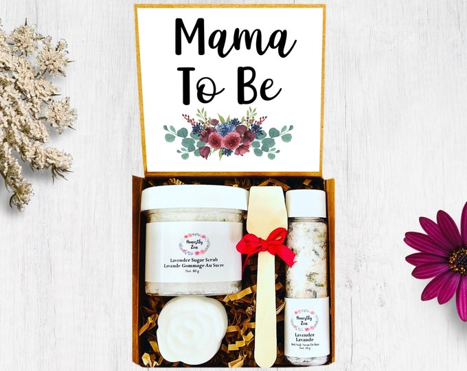 Mama To Be Spa Gift Set, Postpartum Care Package, Pregnancy Care Package, Spa Gift Box For Women, New Mom Care Package, Mom To Be Gift Box