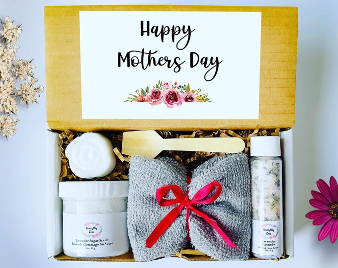 Mothers Day Spa Gift box, Care Package for Mom, Spa Gift Box For Mom, Mothers Day Gift From Daughter, Mothers Day Gift basket, Best Mom Ever