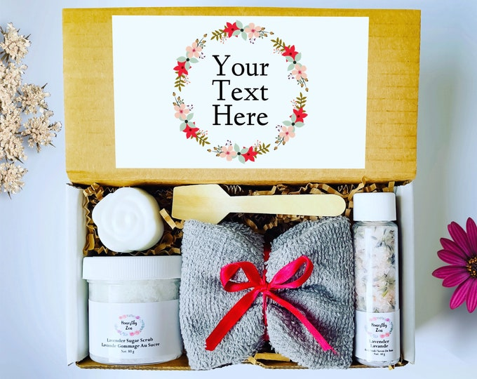 Personalized Spa Gift Box, Care Package For Her, Spa Gift Box For Women, Spa Gift Set For Her, Custom Spa Gift Box, Gift Box For Best Friend