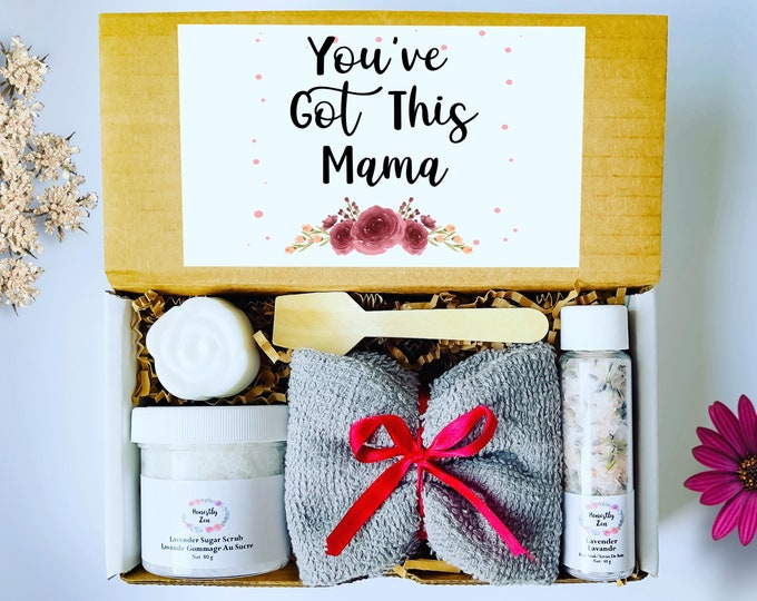 You Got This Mama Gift Box, Postpartum Care Package, Pregnancy Care Package, Spa Gift Box For Women, Gift For New Mom, Mom To Be Gift
