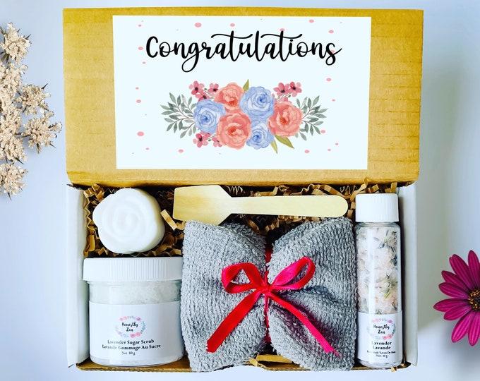 Congratulations Gift Box, Wedding Gift, Graduation Gift Box, Housewarming Gift, New Job Gift Box, Promotion Gift Box, Retirement Gift