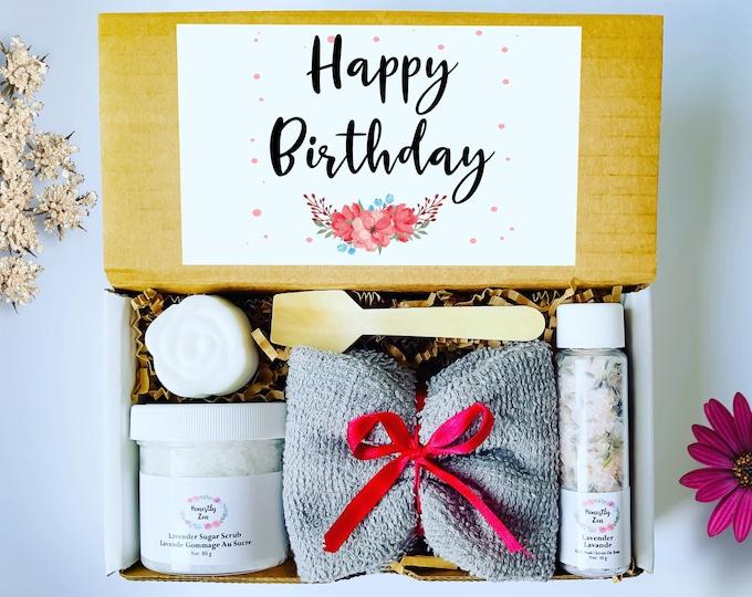 Birthday Gift Box, Personalized Birthday Gift, Birthday Box For Best Friend , Spa Gift Box for Birthday, Birthday Gift Basket