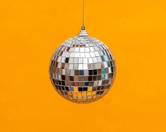 "4"" SMALL Disco Ball Mirror Ball - THE CHIC"