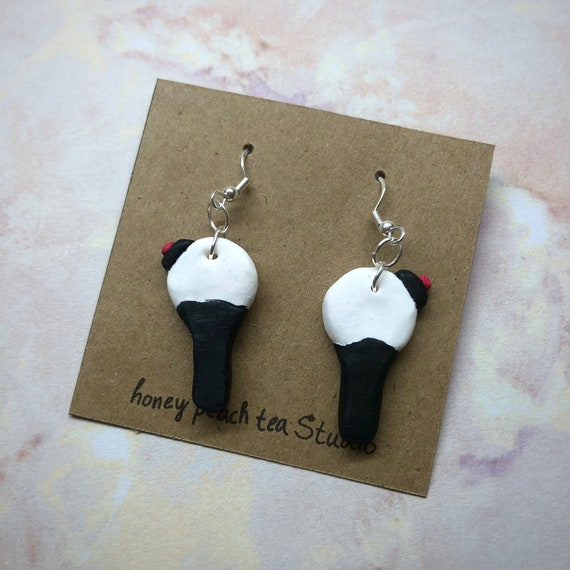 V from BTS Army Bomb Themed Earrings
