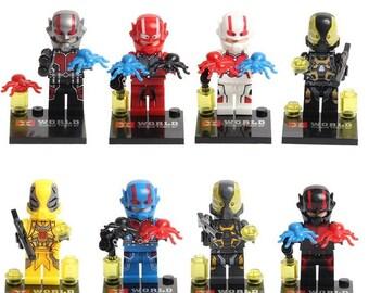 8 Ant-Man Figures (Ant-Man)