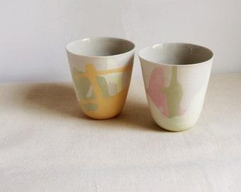 Two tea bowls