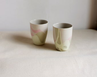 set of two espresso cups or whatever you wish cups