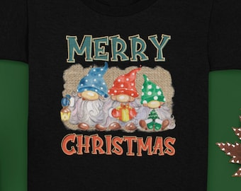 Merry Christmas kids shirt, Christmas gnomes shirt for kids, Gonk Christmas, 2021 Christmas shirt for kids, funny Christmas shirt for kids