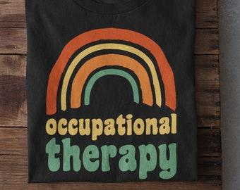 Occupational therapy rainbow shirt, Occupational Therapy Shirt, Occupational Therapist shirt, OT shirt, OTA Shirt