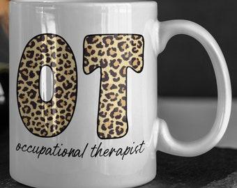 Occupational therapist mug, Occupational Therapy Gifts, Occupational Therapist Gift, therapist coffee mug