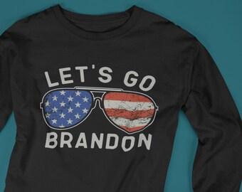 Lets go Brandon Long Sleeve Tee, Brandon long sleeves Let's go Brandon, go Brandon