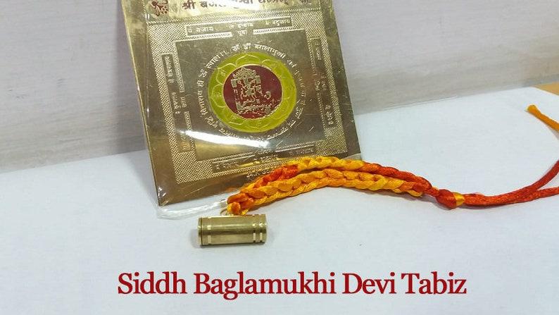 Spiritual Luck Protection  Baglamukhitaweez Charm Power Amulet Love Pendant