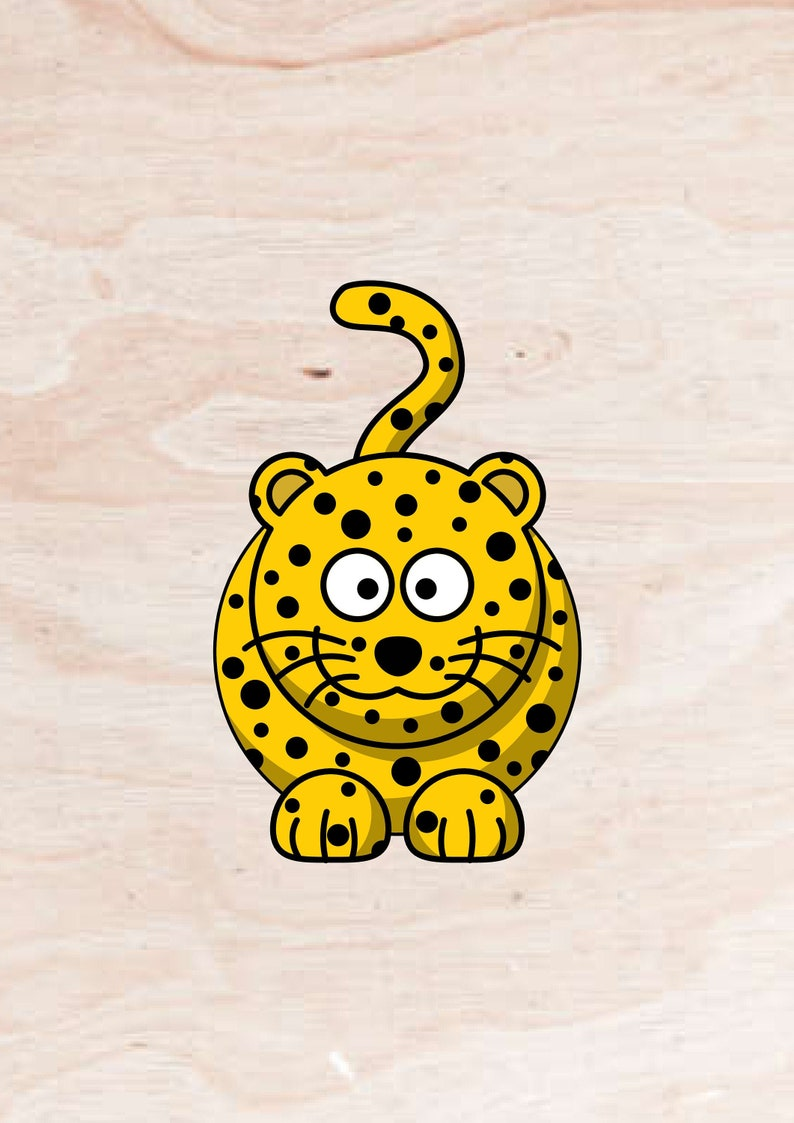 Animal svg leopard cricut Leopard digital file Animal Print Leopard SVG