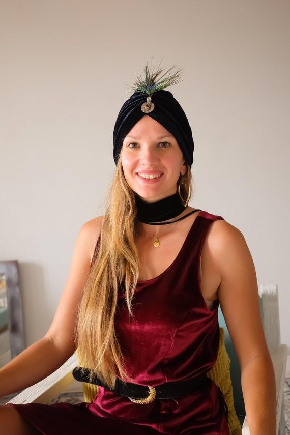 Bohemian Vintage boho bohemian hat boho hippie tur