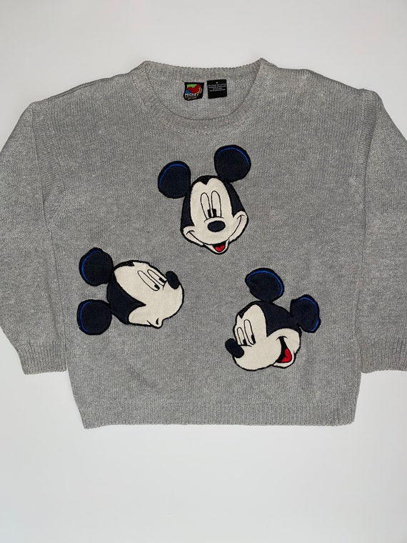 Vintage Mickey Unlimited Knitted Mickey Mouse Swea
