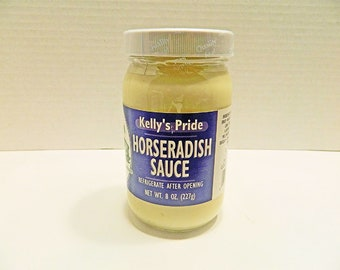 Horseradish Jar Etsy