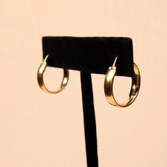 Unoaerre, 14K Gold Hoop Earrings, gold hoops, 14k
