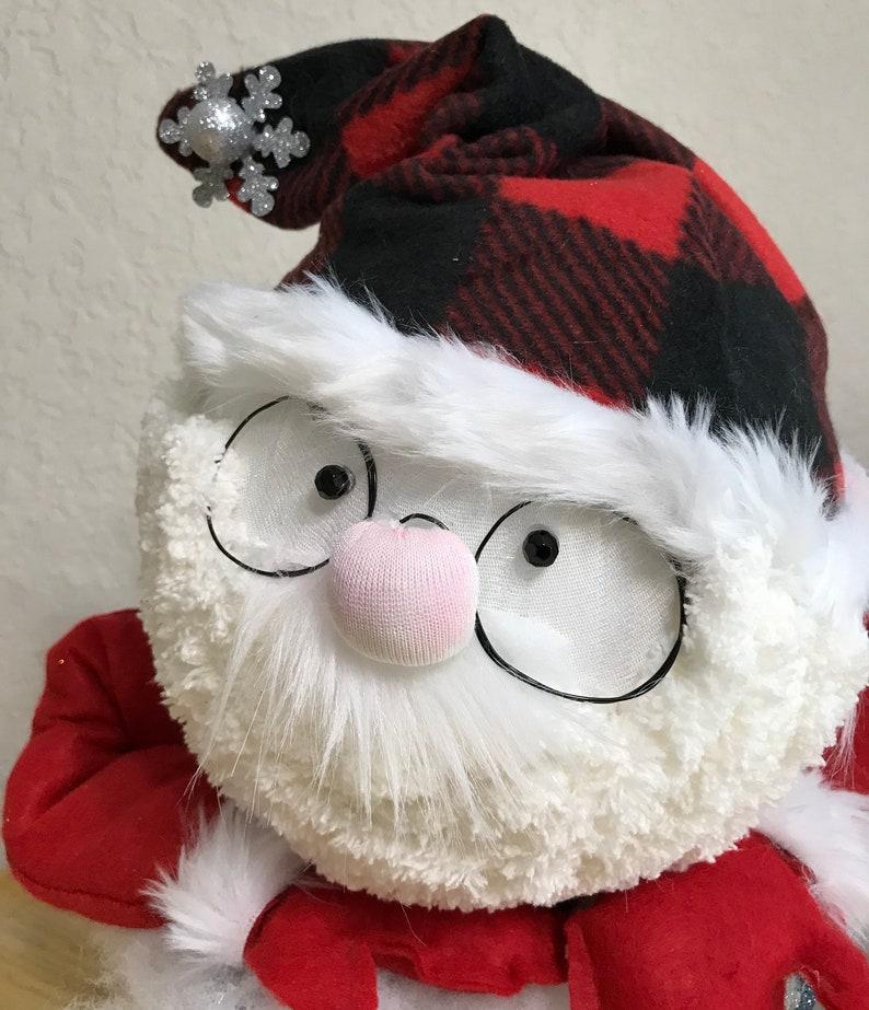 Santa Coming out of Chimney | Etsy
