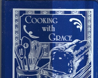 Laurie Missouri vintage Ozark Chapel United Methodist Church Cooking With Grace Cookbook MO Community Favorite Recipes Rare Local Cook Book