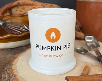 Pumpkin Pie Candle   The Glow Co.