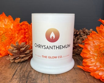 Chrysanthemum Candle   The Glow Co.
