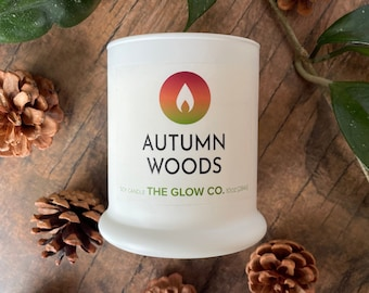 Autumn Woods Candle   The Glow Co.