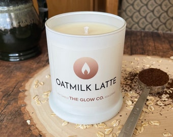 Oatmilk Latte Candle   The Glow Co.