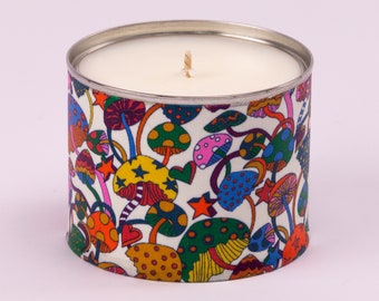 Festive Fun Guy Candle, Pine, Orange, Clove, Ginger & Cinnamon Scented Candle, fun Christmas candle gift