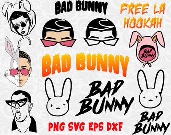 Bunny Svg Files Etsy