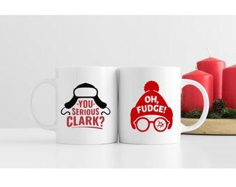 Mug Set   Christmas Vacation Mug   Christmas Story Mug   Coffee Mugs   Holiday Gift Set