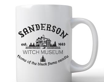 Hocus Pocus Mug   Sanderson Sisters Mug   Coffee Mug   Sanderson Witch Museum