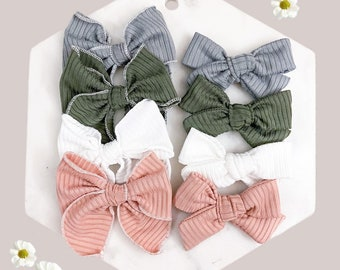 Bow Bundle Box Bows on Nylon Pastel Hair Bow Spring Hair Bows Bows Spring Hair Bow Set Bows for Newborn Bows for Babies Bows on Clip