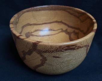 Marblewood Hand Turned-Handmade Bowl