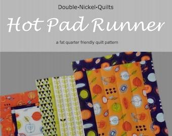 Hot Pad Runner digital download pdf pattern #DNQ126