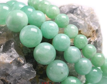 Healing Crystal with Elements of Luck and Harmony in your Life Natural Burmese Jade Stone Bracelet with Hand Carved Mushrooms