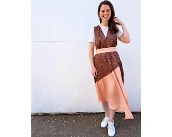 Lynn Pinafore dress and skirts **PDF** Sewing Pattern