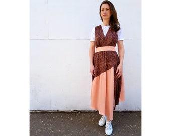Lynn Pinafore dress and skirts **PAPER** Sewing Pattern