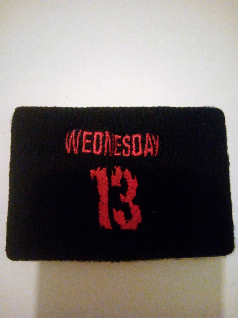 Wednesday 13 wristband