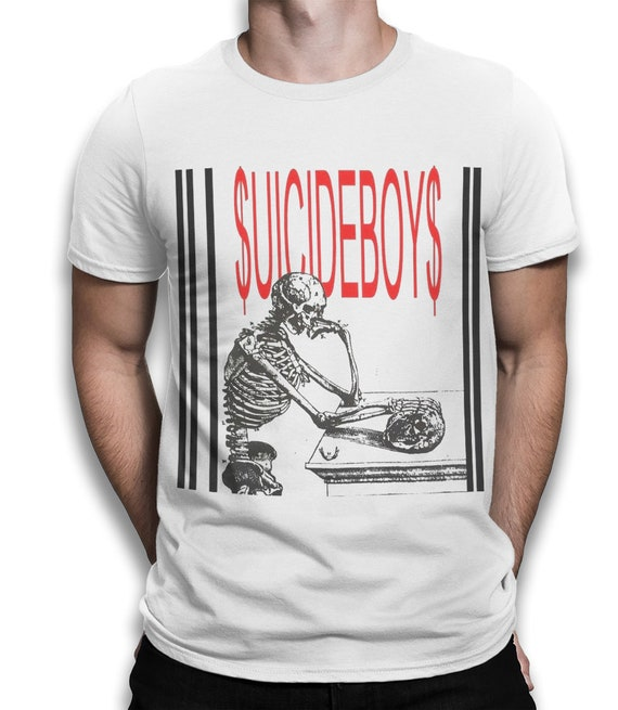 SuicideboyS Either Hated or Ignored T-Shirt, Suicide Boys Graphic Tee, High Quality Cotton Tee, Men's and Women's Sizes