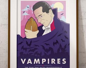 Blood Bowl Inspired 'Vampires' Poster