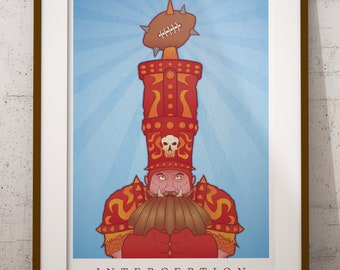 Blood Bowl Inspired 'Interception' Poster